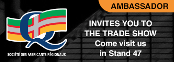Société des fabricants régionauz invites you to the trade show. Come visite us at Stand 47.